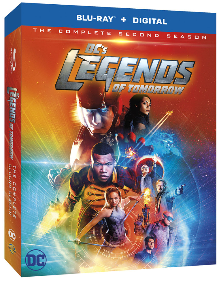 DC's Legends of Tomorrow: The Complete Season Season Blu-ray DVD release Tomorrow Season Two