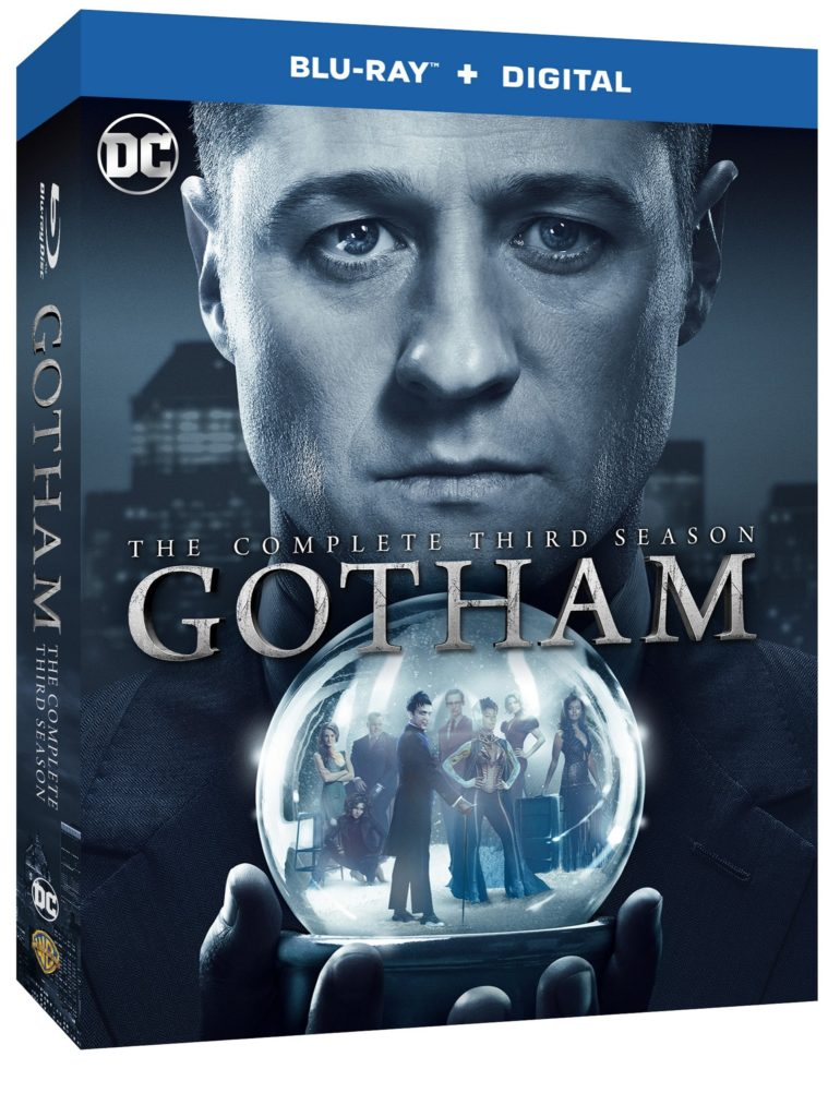 Gotham Season 3 Blu-ray DVD Warner Bros Home Entertainment release