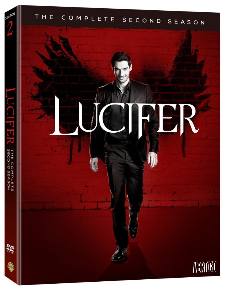 Lucifer the complete season 2 DVD Warner Bros Home Entertainment Release