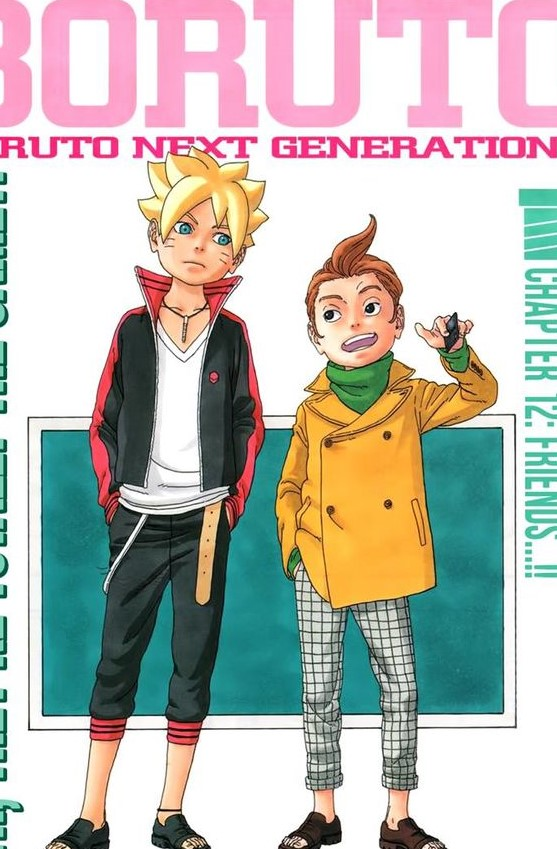 boruto manga chapter 12 review Friends