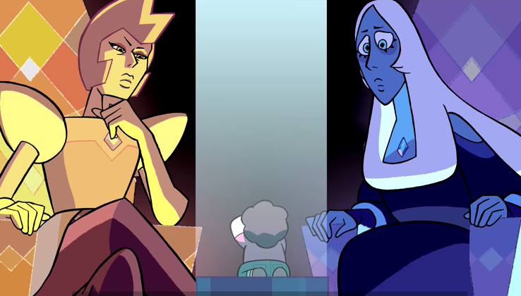 the trial steven before the diamonds
