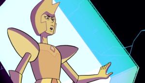 Yellow Diamond taunts Rose Quartz in The Trial