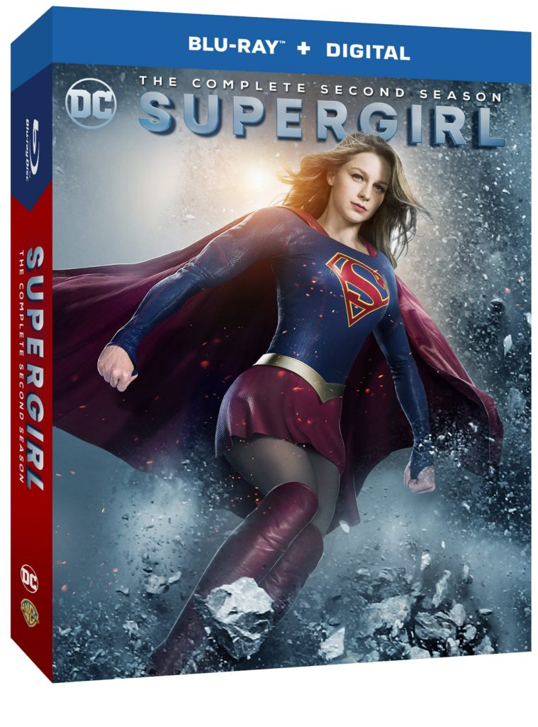 Supergirl Season 2 blu-ray