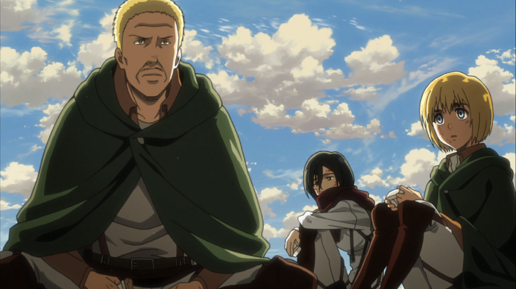 Attack on Titan The Hunters group