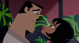 Jack and Ashi's romance