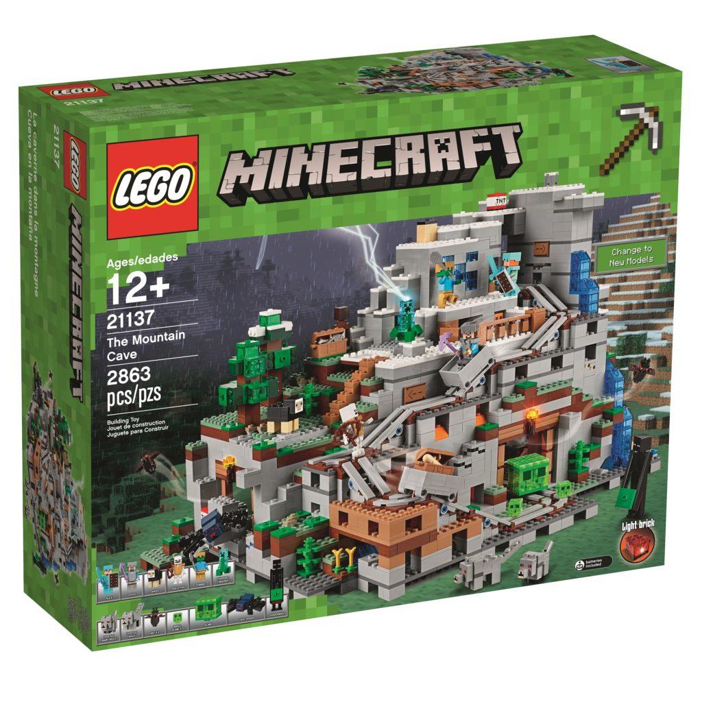 LEGO Minecraft Mountain Cave box