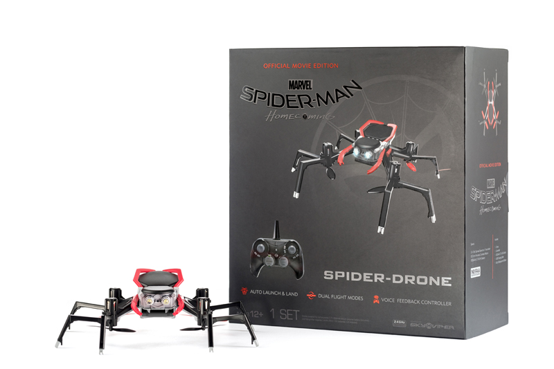 Spider-drone Spider-Man Homecoming Skyrocket