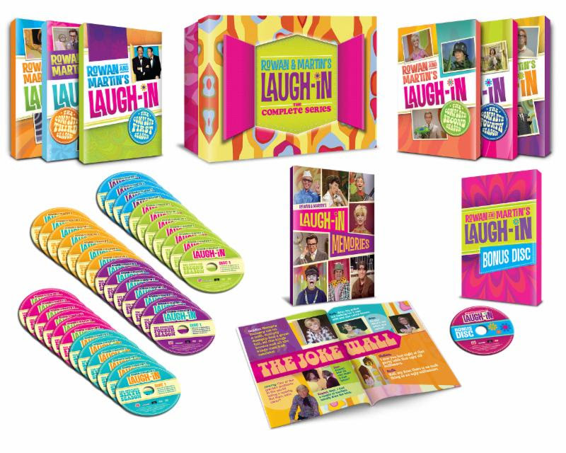 Laugh-In Time Life complete series release