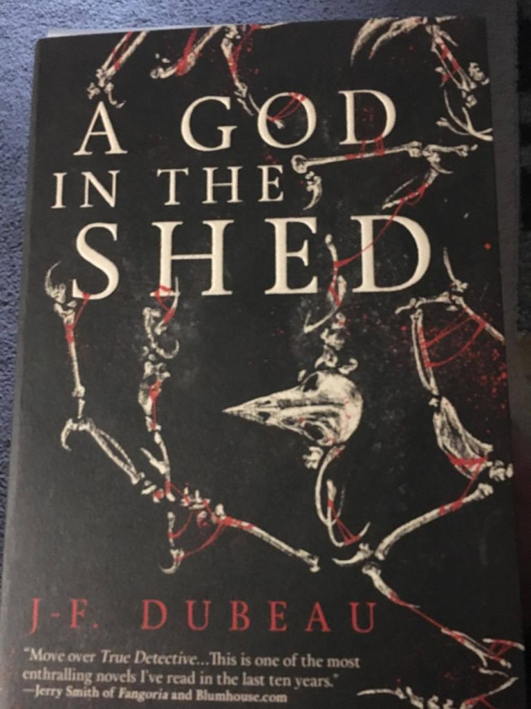 A God in the Shed review J-F. Dubeau