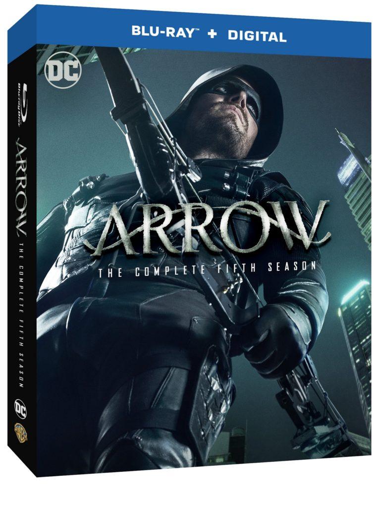 Arrow Season five blu-ray dvd warner bros home