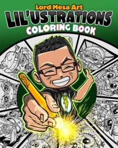 Coloring Book Lord Mesa