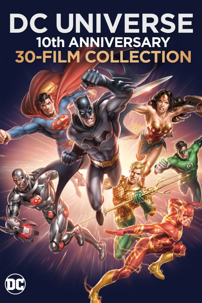 DC Universe Original Films 10th Anniversary Collection Warner Bros