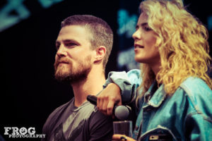 HVFF London - Stephen Amell & Emily Bett Rickards