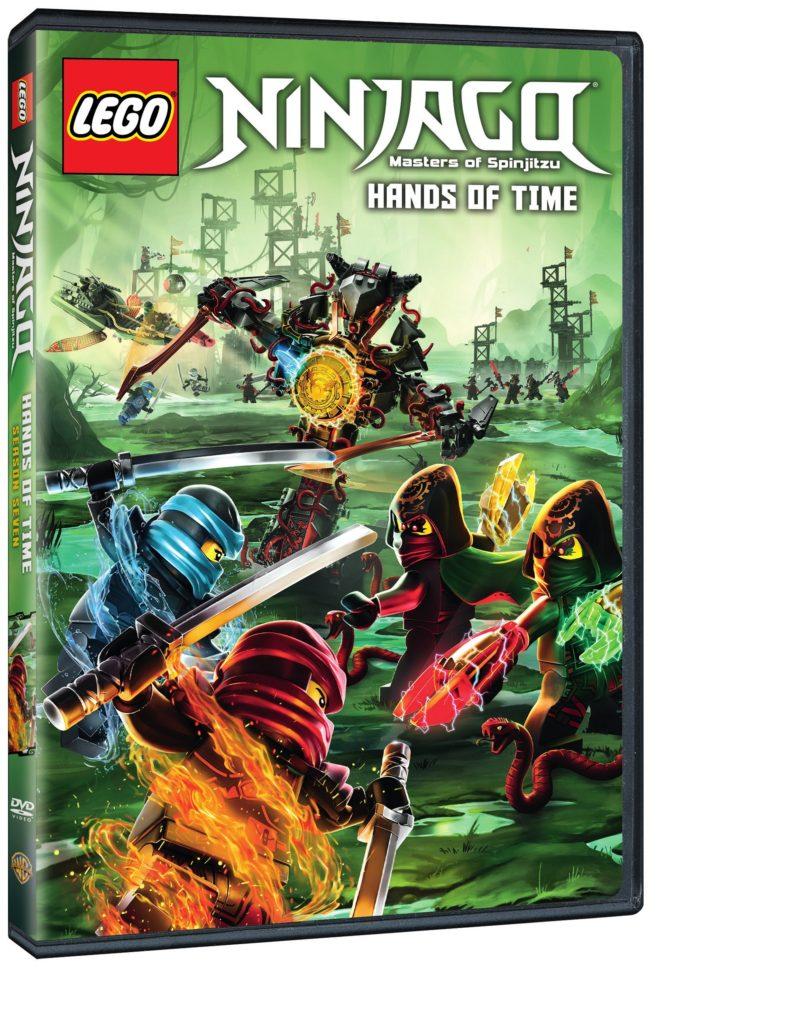 Hands of Time LEGO Ninjago Season 7 DVD Warner Bros Home