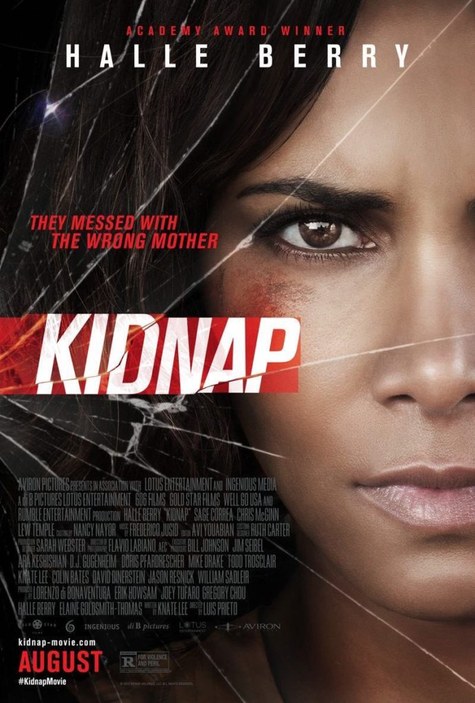 Kidnap Poster Halle Berry Aviron Pictures 49th NAACP Image Awards nominee