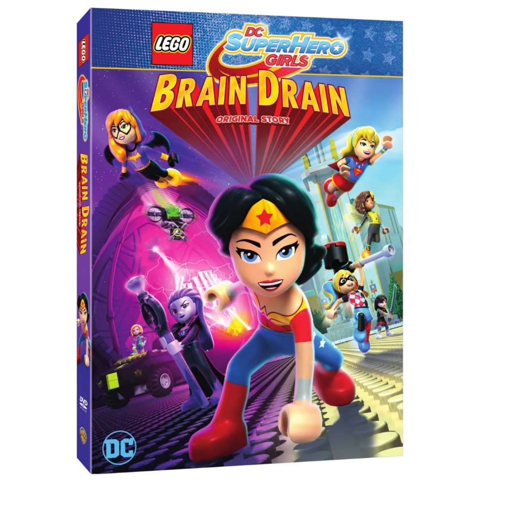 LEGO DC Super Hero Girls Brain Drain Digital HD DVD release date