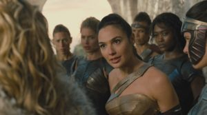 Wonder Woman and crew courtesy of Warner Bros