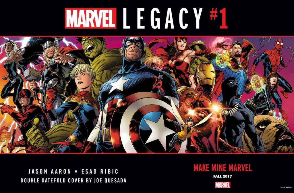 Marvel Legacy Issue 1 avengers