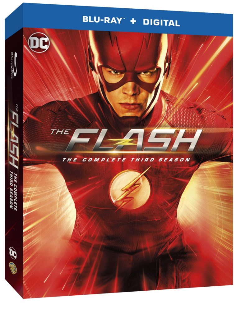 The Flash Season Three Blu-ray DVD release Warner Bros The CW The Flash Season 3