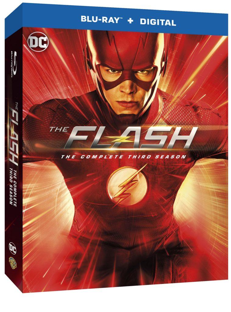 The Flash Season Three Blu-ray DVD release Warner Bros The CW The Flash Season 3