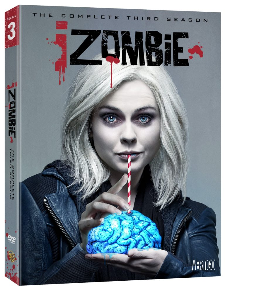 iZombie season three dvd blu-ray release iZombie season 3 dvd review