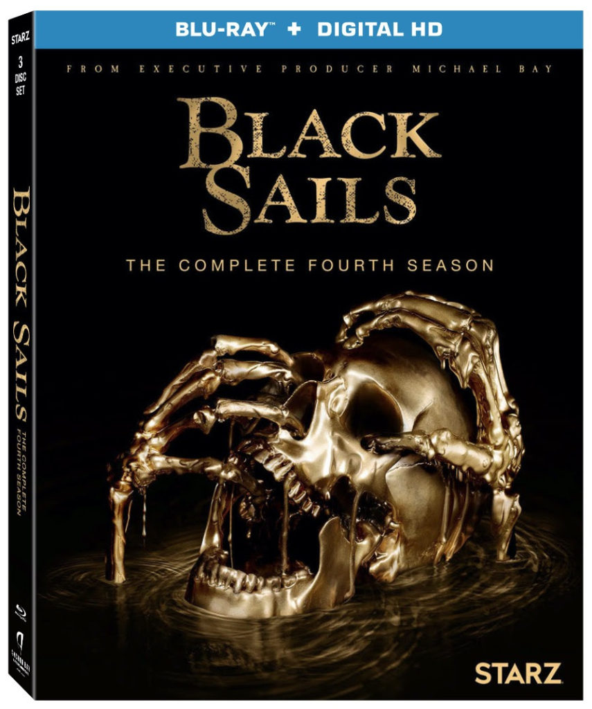 Black Sails Season 4 Blu-ray DVD Lionsgate Home Entertainment release