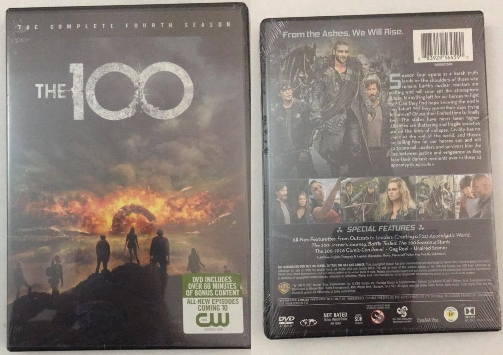 100 Season 4 DVD review warner bros home entertainment