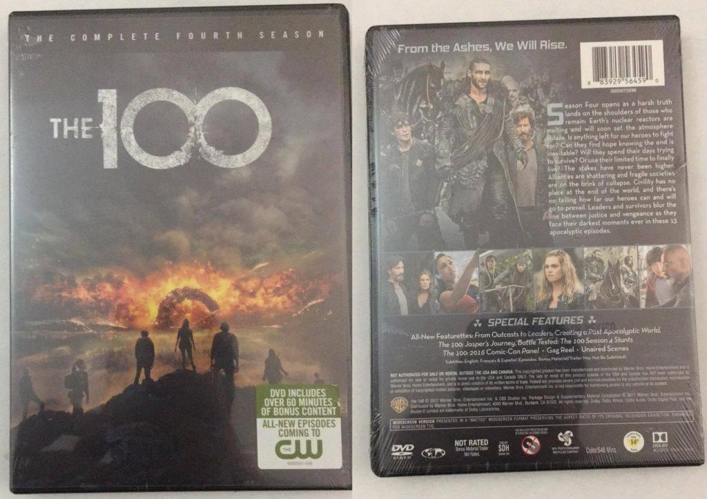 100 Season 4 DVD review warner bros home entertainment