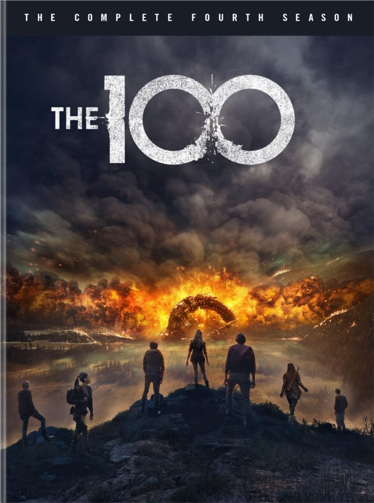 The 100 season four DVD Warner Bros The CW release