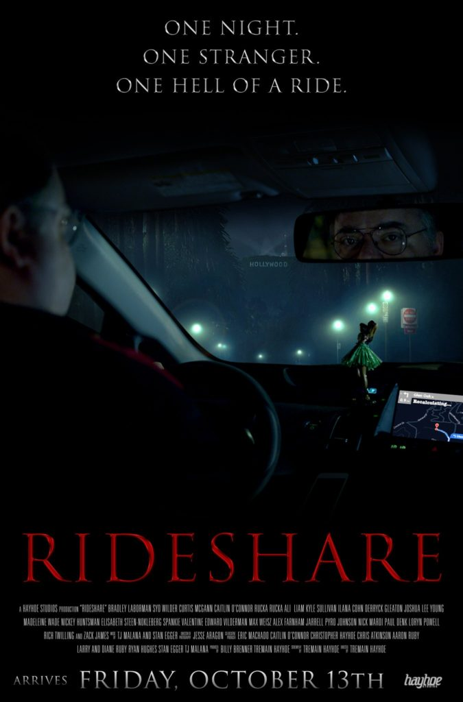 Rideshare Poster Tremain Hayhoe