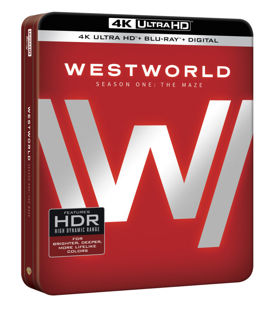 Westworld season one 4K Ultra HD Blu-ray DVD Warner Bros Home Entertainment