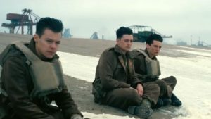 Dunkirk soldiers on the beach