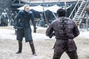 dragonstone game of thrones brienne of tarth podrick payne