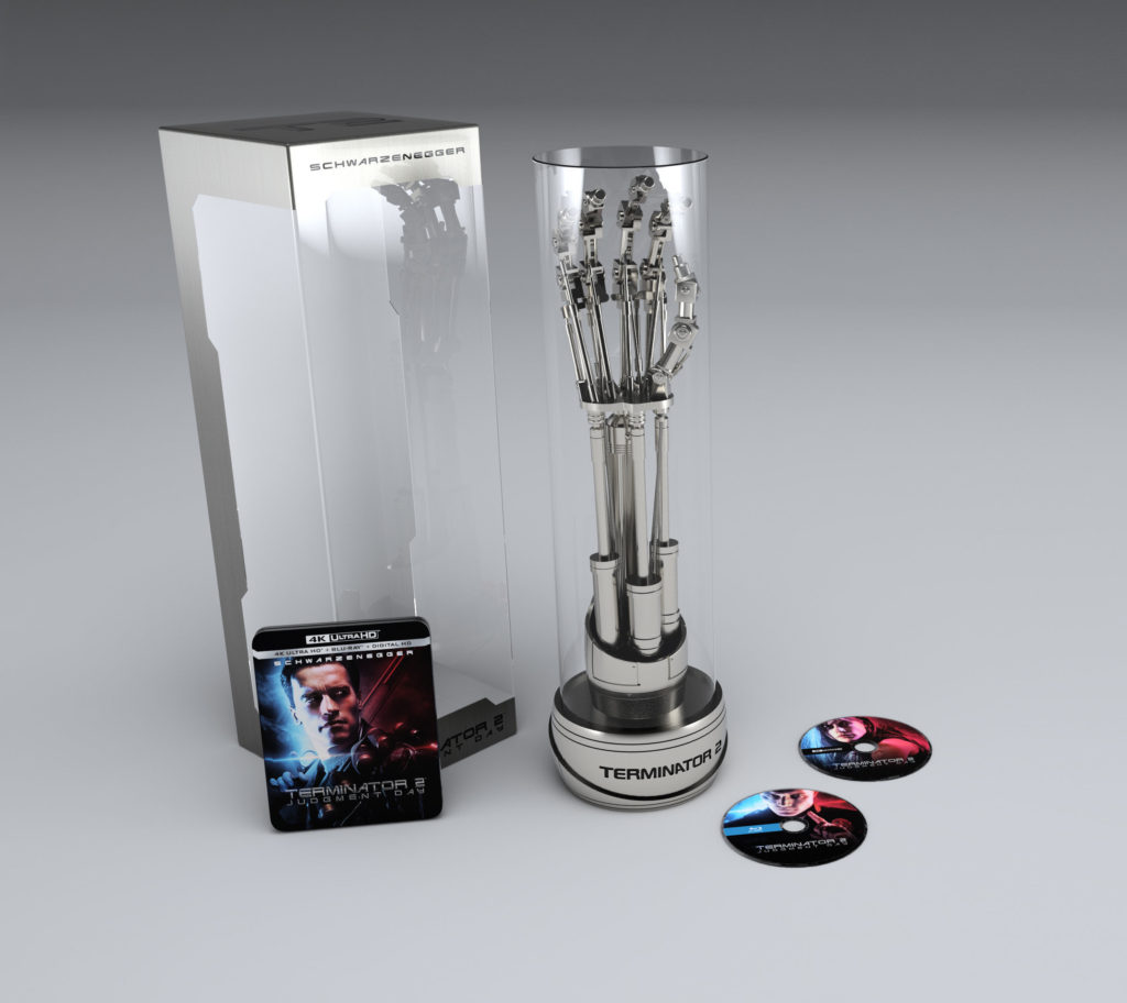 Terminator 2 Judgement Day Limited Collector's Edition EndoArm 4K Ultra release