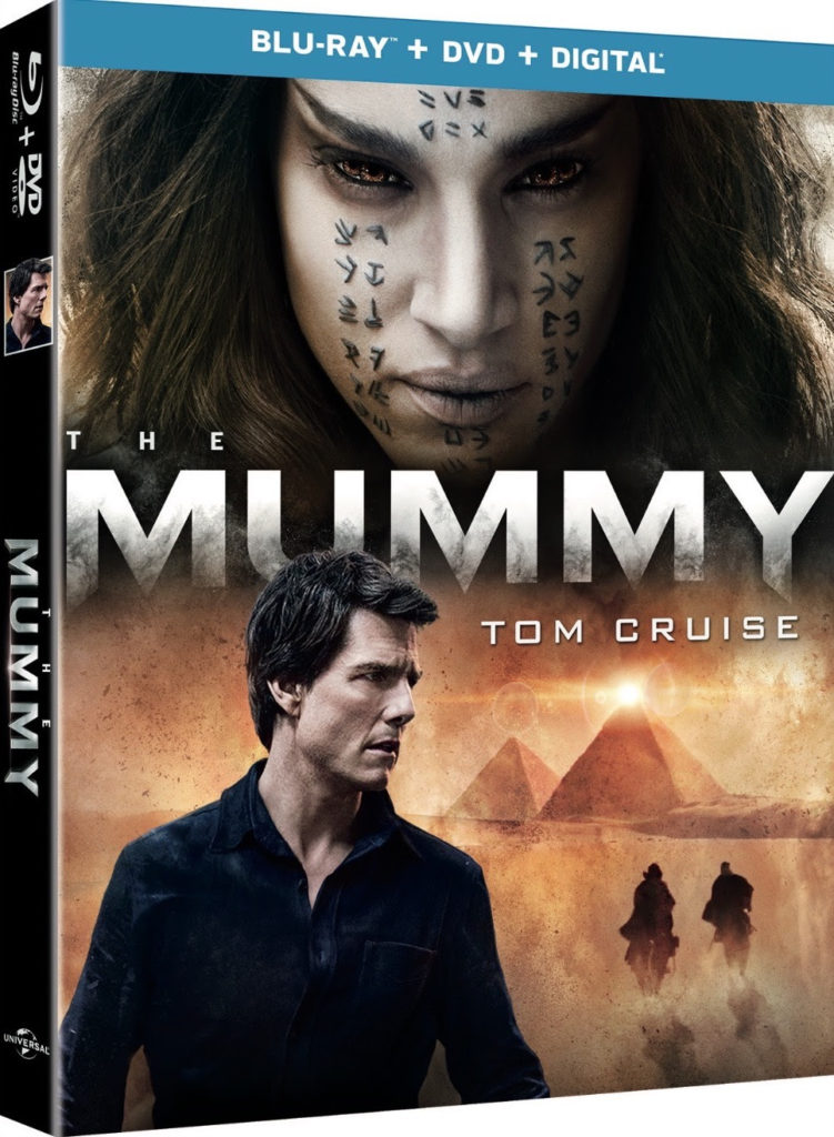 The Mummy DVD Blu-ray 4K Ultra HD Universal Home Entertainment Release