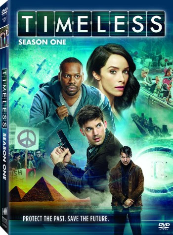 Timeless Season One DVD NBC Sony Pictures Home Entertainment