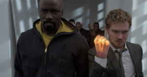 the defenders luke cage iron fist danny rand