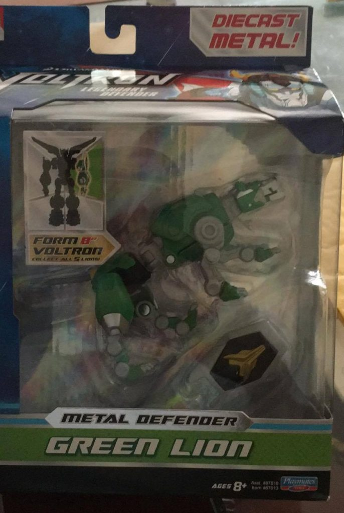 Playmates Toys Voltron Metal Defender Green Lion review