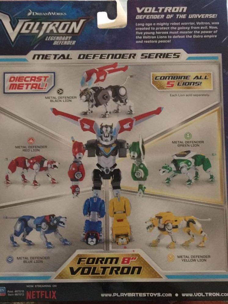 Playmates Toys Voltron Metal Defender review