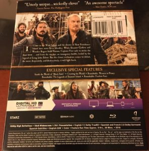 Black Sails Season 4 Blu-ray review DVD Lionsgate Home Entertainment