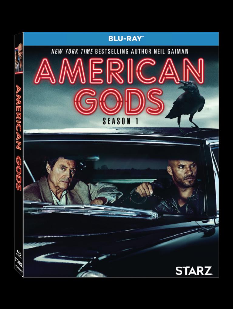 American Gods Season One Blu-ray DVD release Lionsgate