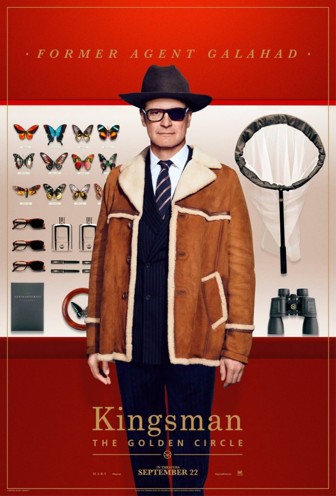 Harry Hart Kingsman The Golden Circle Character Poster