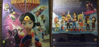 LEGO DC Super Hero Girls: Brain Drain – DVD Review