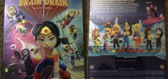 LEGO DC Super Hero Girls: Brain Drain – DVD Review
