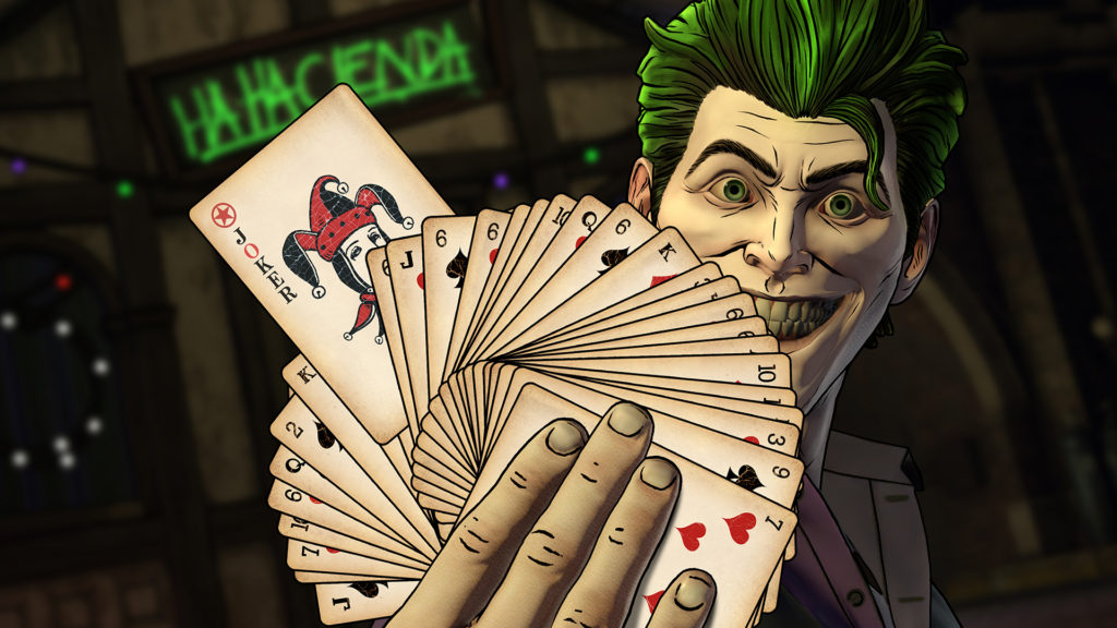 Telltale Games Batman Enemy Within The Pact John Doe Joker