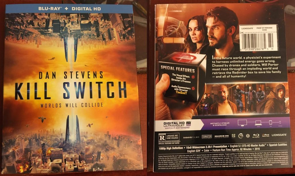 Kill Switch Review Blu-ray Lionsgate Home Entertainment