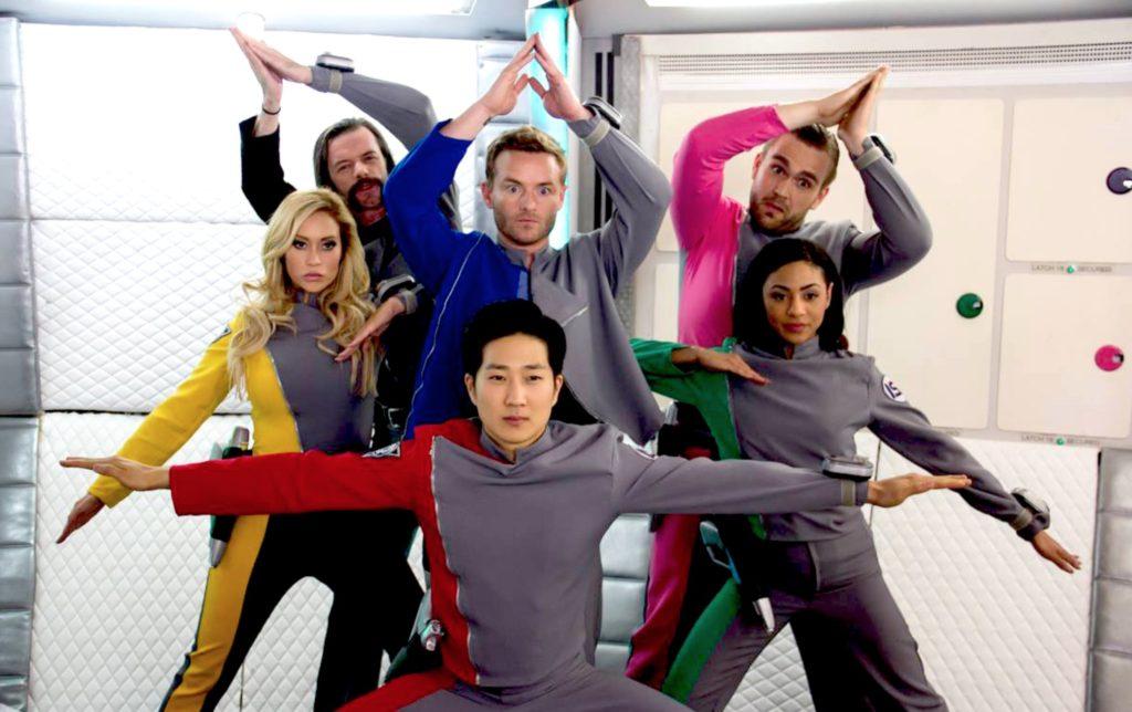 Mystic Cosmic Patrolman team Funny or Die