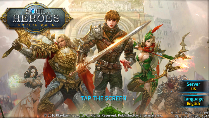 Soul of Heroes Empire War Android iOS