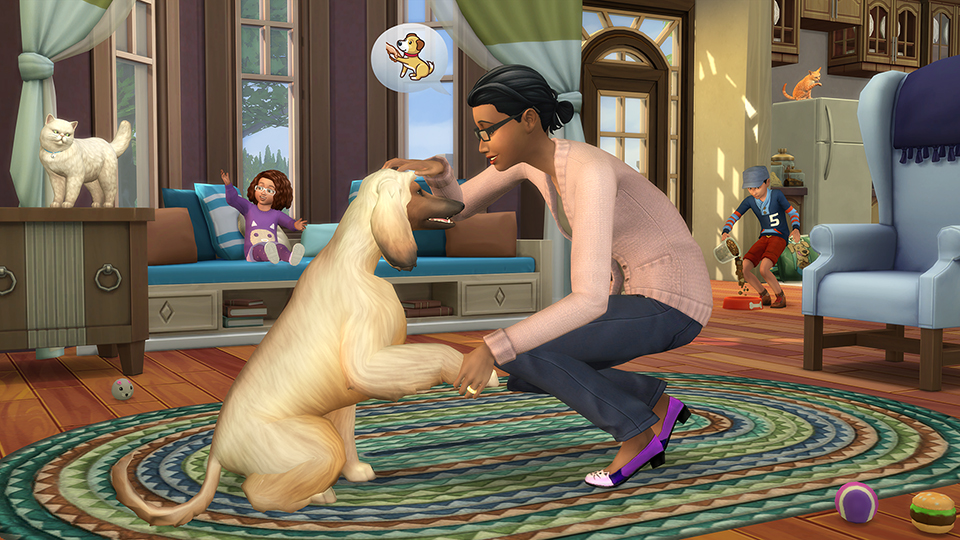 The Sims 4 Cats and Dogs expansion