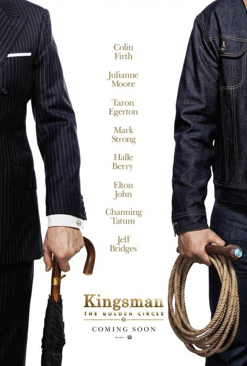 Kingsman The Golden Circle film poster image